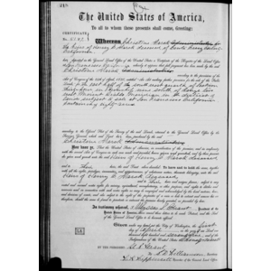 Abraham manchester state land patent in santa cruz county for Bureau gallery manchester