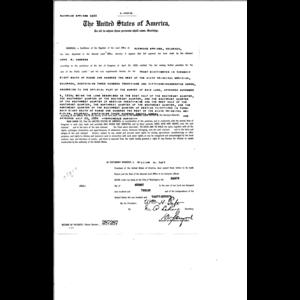 John B Andrews, Serial Land Patent in Mesa County, Colorado (1912
