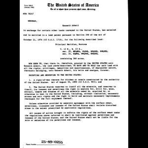 elliott production company serial land patent in fergus county montana 1967 fergus county. Black Bedroom Furniture Sets. Home Design Ideas