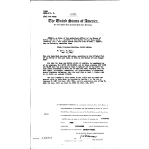 Click this thumbnail for a full view of Indian Fee Patent